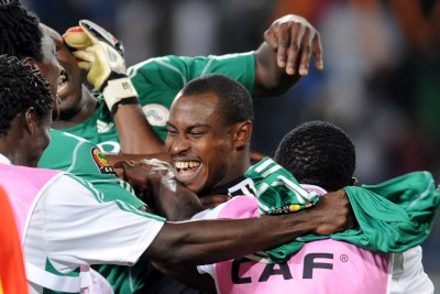 Former Super Eagles' skipper and first-choice goalkeeper Vincent Enyeama (file photo).