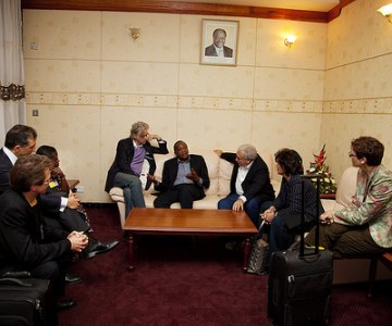 IMF Managing Director Visits Kenya