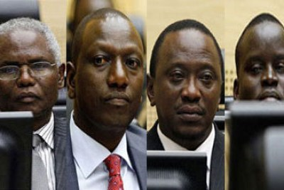 Uhuru Kenyatta, a co-accused in the ICC trial.