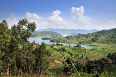 View of northwestern Rwanda. The government of Rwanda has championed a national landscape restoration strategy to improve rural livelihoods.