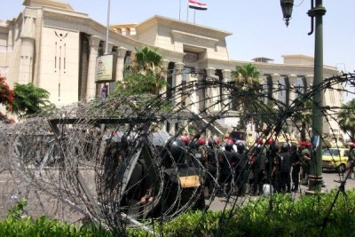 Egyptians Protest Against Court Ruling