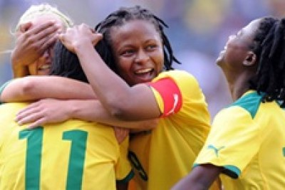 South Africa women's national senior socccer Banyana Banyana to play in AWC finals against Equatorial Guinea.