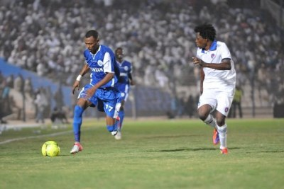 Sudan's Al Hilal  in action against Interclube of Angola