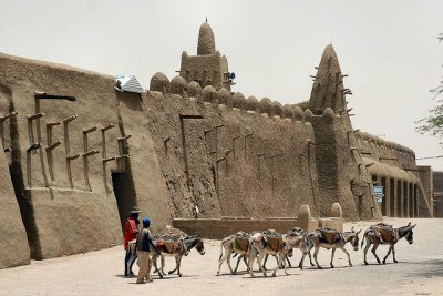 In 2012 Tuareg and Islamic separatists took over northern Mali, destroying crucial works of Malian heritage (file photo).