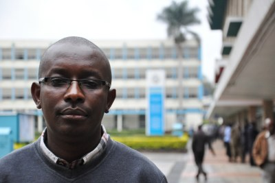 John Mwero, a RISE award recipient, is now a professor of engineering at the University of Nairobi.