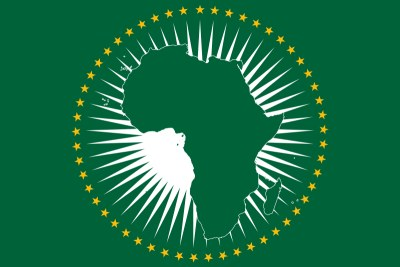 African Union Flag.