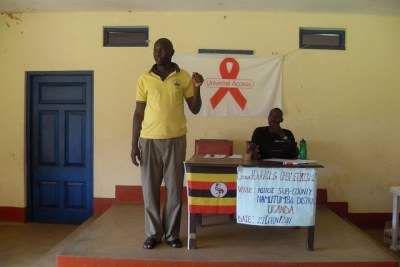 Uganda HIV/Aids law to criminalise intentional transmission of the disease (file photo).
