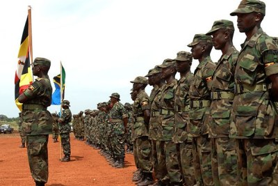 East Africa member states criticise Uganda for sending its army to fight alongside S. Sudan forces (file photo).