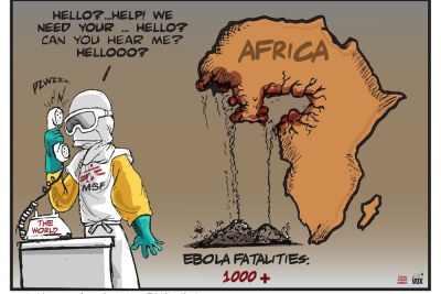 More than 2,000 people have been infected with Ebola so far and over a thousand people have already died.