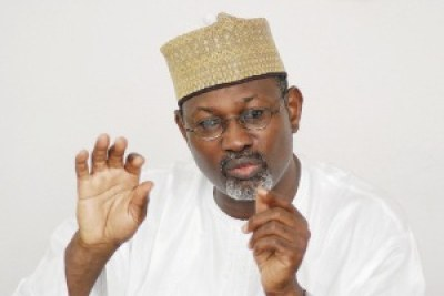 Independent National Electoral Commission Chairman Professor Attahiru Jega