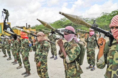 Al-Shabaab militia group (file photo).