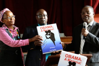 Obama, A Mamma!, the poem, was written as a poetic response to Obama's visit to Africa in 2013.