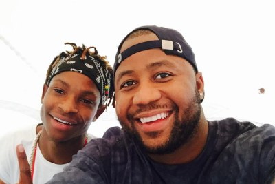 Cassper Nyovest and Malawian producer Gemini Major.