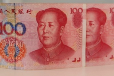 Chinese currency, the Yuan.