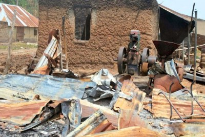 Communities attacked as a result of clashes between farmers and herdsmen.