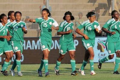 Super Falcons (file photo).