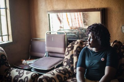 Kargbo sits in her lounge in Wellington, a former Ebola hotspot where her community shouted names at her.