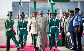 Buhari Returns to Nigeria After UK Trip