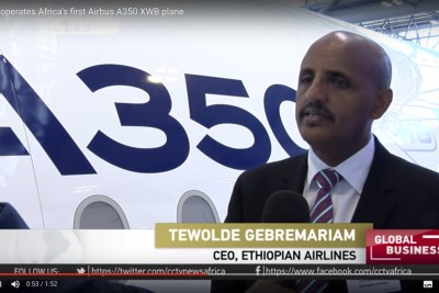 Ato Tewolde Gebremariam, Group CEO of Ethiopia Airlines