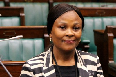 Public Protector, Busisiwe Mkhwebane (file photo).