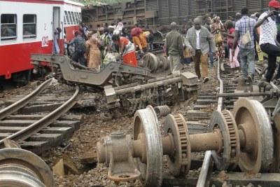 Accident de train à Eseka au Cameroun