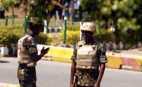 Six Nigerian Soldiers Detained for Beating a Woman