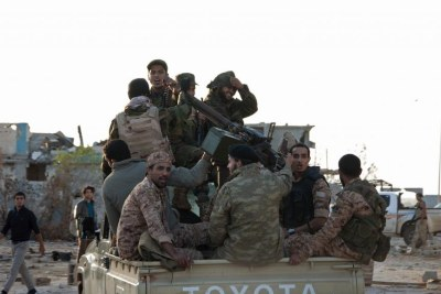 Soldiers in Benghazi (file photo).