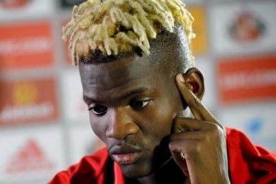 Didier Ndong of Gabon usually plays for Sunderland in Britain.