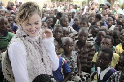 Madonna in Malawi (file photo).