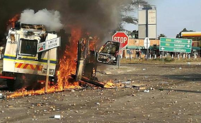 South African Officials Appoint Team to Probe Violent Protest