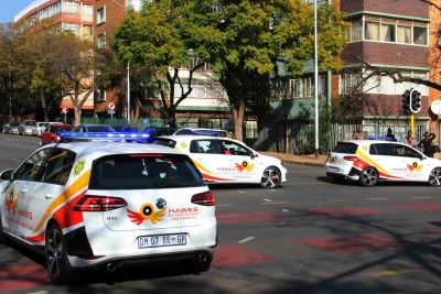 Hawks police unit vehicles (file photo).