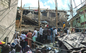 14 People Rescued As 4-Storey Lagos Building Collapses