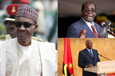 Nigeria, Angola and Zimbabwe are being left in leadership limbo as their ailing rulers spend weeks abroad seeking medical attention.
