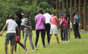Nigeria's 'Queen of Golf' Mentors Potential Successors