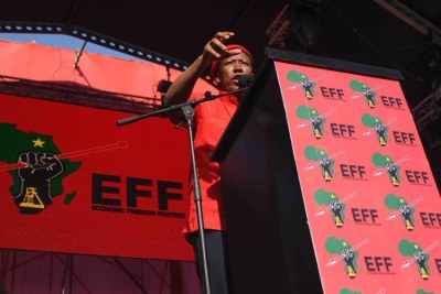 EFF leader Julius Malema (file photo).