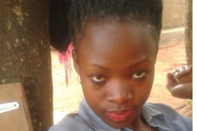 Sarah Neliima, whose body was found dumped near the Entebbe-Kampala Highway on Wednesday.