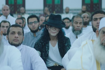 Screenshot from the movie, Sheikh Jackson.