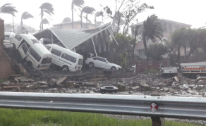 Durban Residents Warned as Storm Lashes South African City