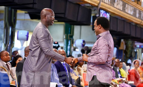 As Runoff Heats Up, Liberia's George Weah Meets T.B. Joshua