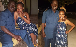 Who is This Woman Photographed With Odinga in Zanzibar?