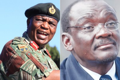 Vice Presidents of Zimbabwe retired general Constantino Chiwenga and Kembo Mohadi