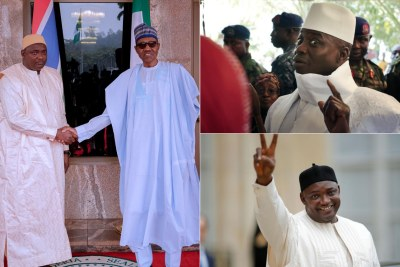 Why We Used 'Force' to Get Jammeh Out - Buhari