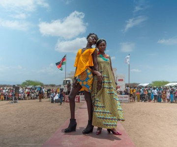 Kenyan Model Brings the Runway to Kakuma Refugee Camp