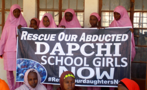 We Are Not Giving Up on Christian Dapchi Girl - Nigeria President