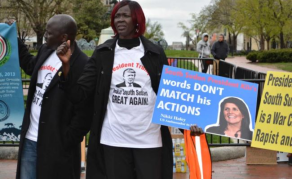 South Sudanese Take to The Streets in Washington