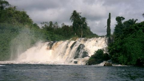Chutes de la Lobe (Waterfalls of Lobe)