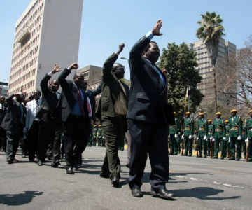 Zimbabwe Opening of 7th Parliament 2008