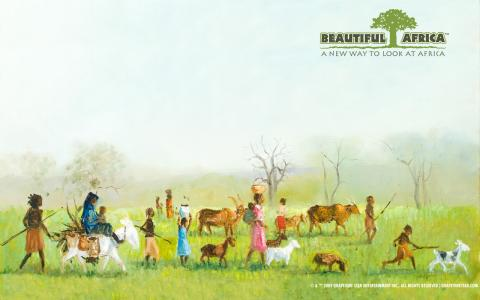 Beautiful Africa - A New Way to Look at Africa