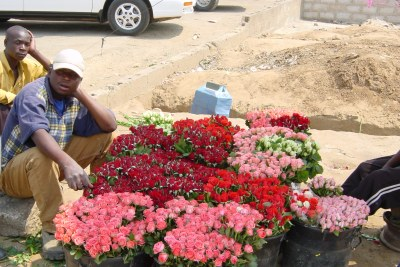 Flower traders (file photo).