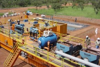 Raffinerie de pétrole au Tchad